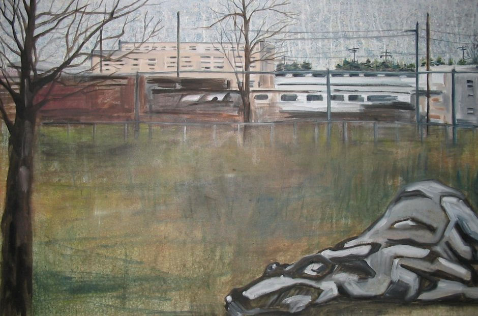 downed II PAINTING