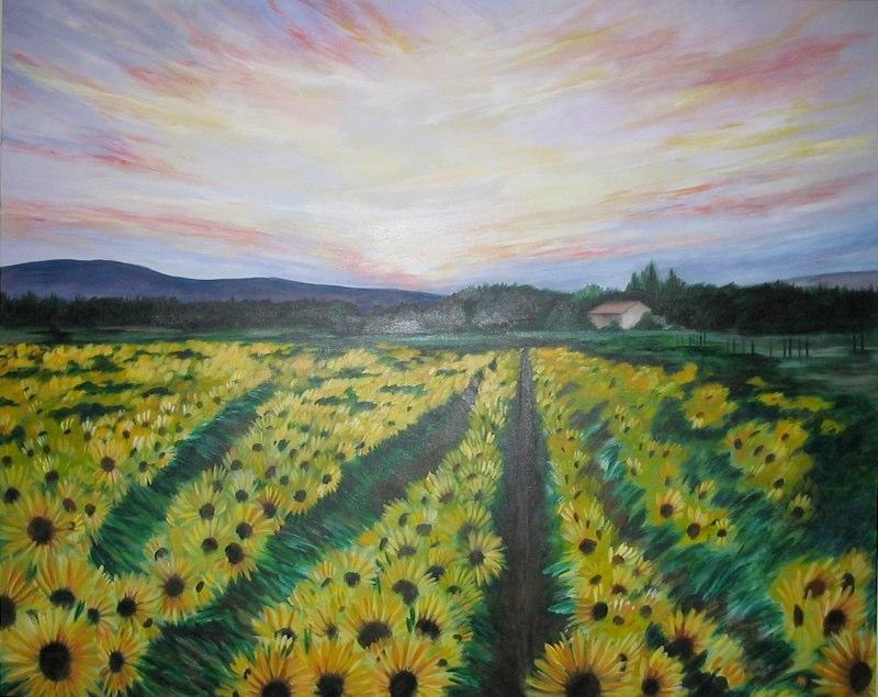 Sunflowers4x5