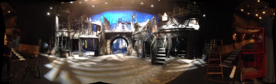 panorama at Playhous - burn set