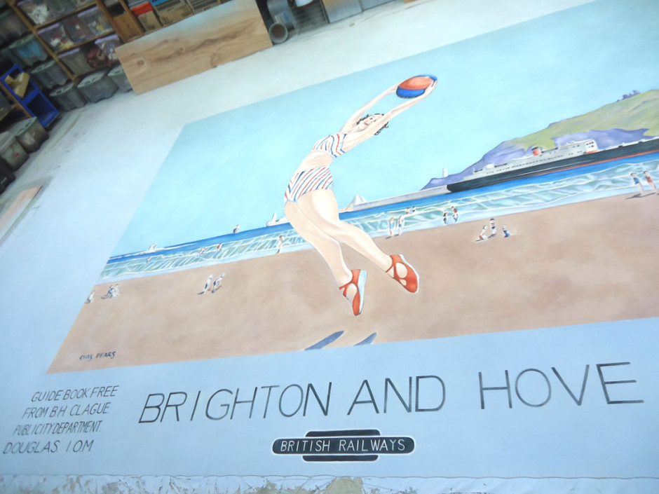 Brighton backdrop II